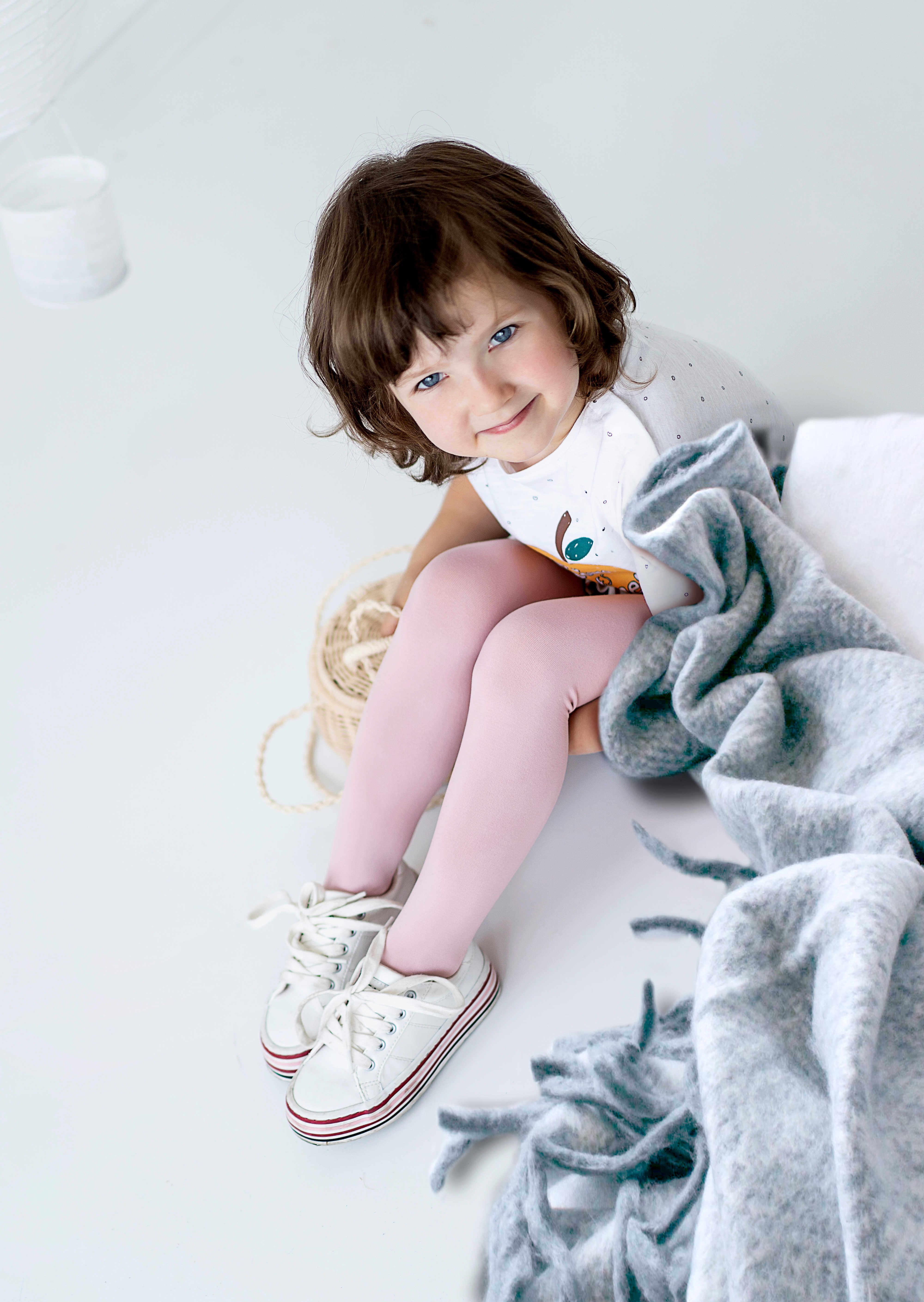 Rajstopy dziewczęce z mikrofibry Corina Mini