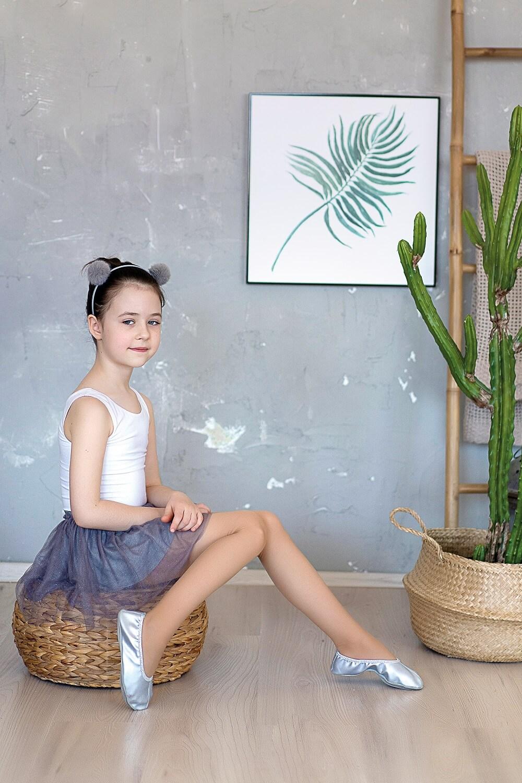 Rajstopy dziewczęce gładkie Ballerina